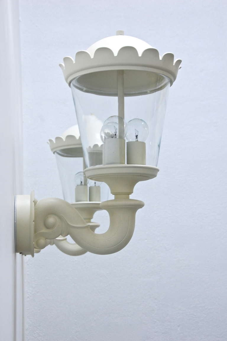 Wall Lights Made In Germany : Outdoor Sconce 1960s Germany For Sale at 1stdibs