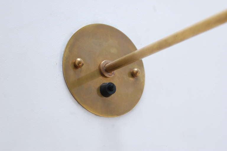 Pivot Brass Sconces For Sale 3