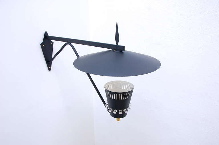 Modern Swiss Outdoor Sconce For Sale