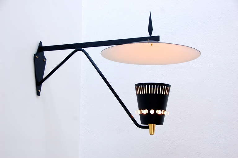 Swiss Outdoor Sconce In Excellent Condition For Sale In Los Angeles, CA
