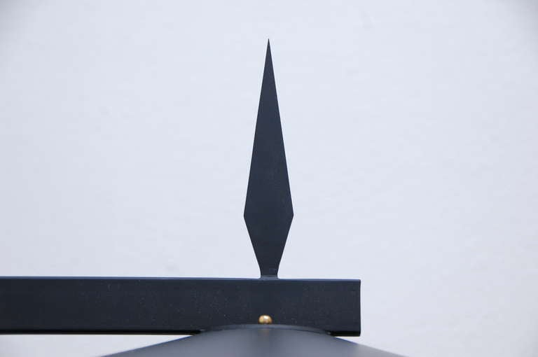 Lucite Swiss Outdoor Sconce For Sale