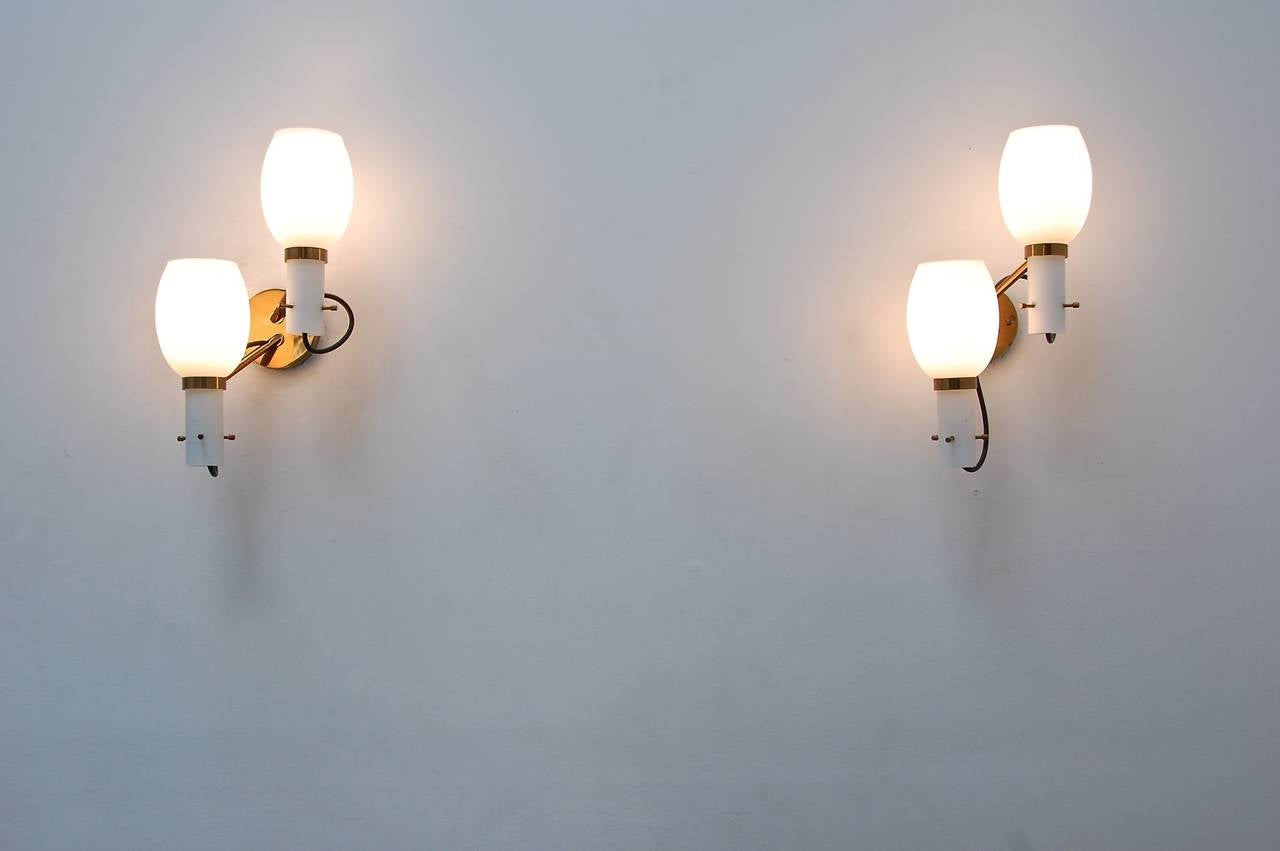 Wall Sconces by Stilnovo For Sale 1