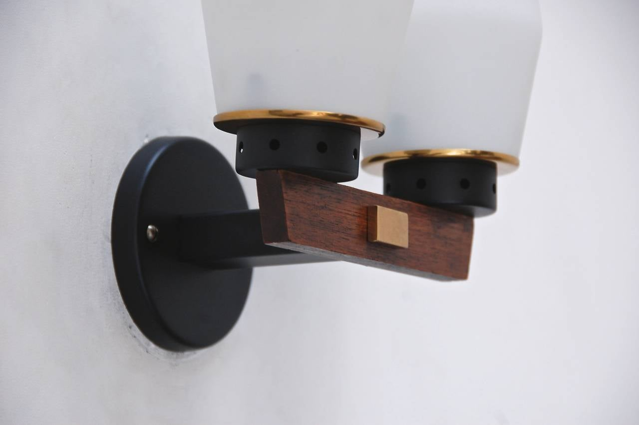 Modern Wall Sconces Italian : Mid-Century Modern Italian Sconces For Sale at 1stdibs