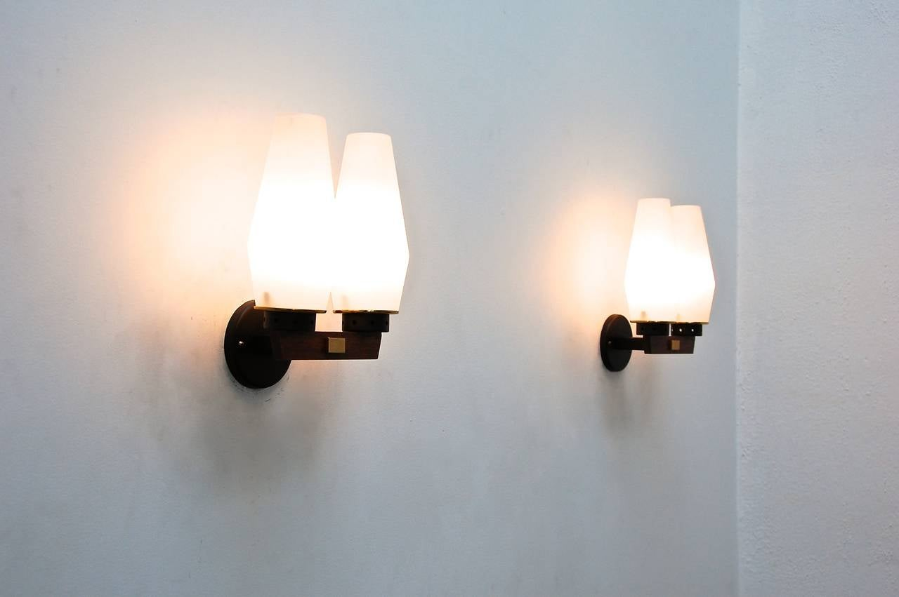 Contemporary Italian Wall Sconces : Mid-Century Modern Italian Sconces For Sale at 1stdibs