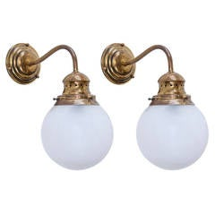 "5 ""LP1 Lampione"" Wall Lamps by Azucena"