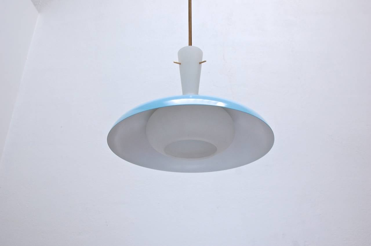 Italian Pendant Light For Sale 1