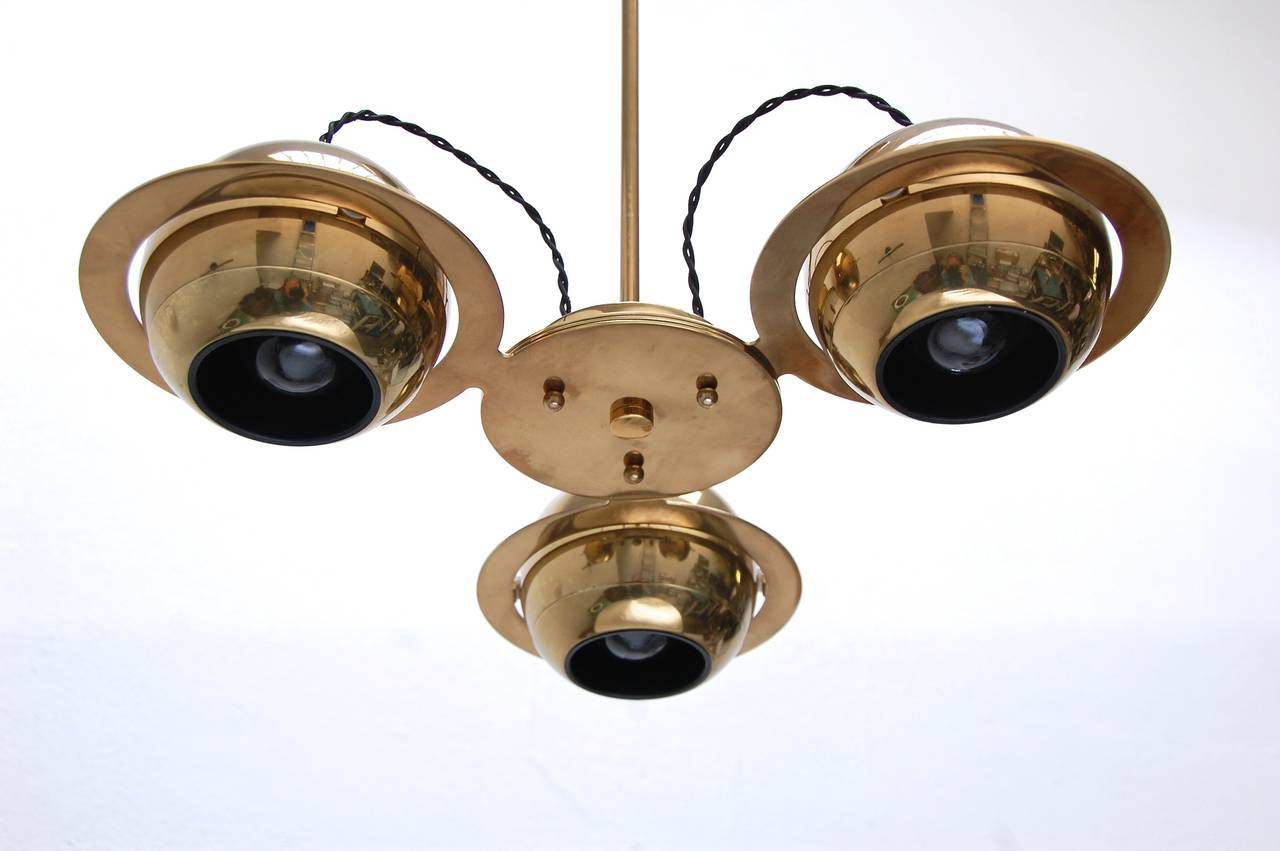 Reggiani Attributed Small Chandelier For Sale 2