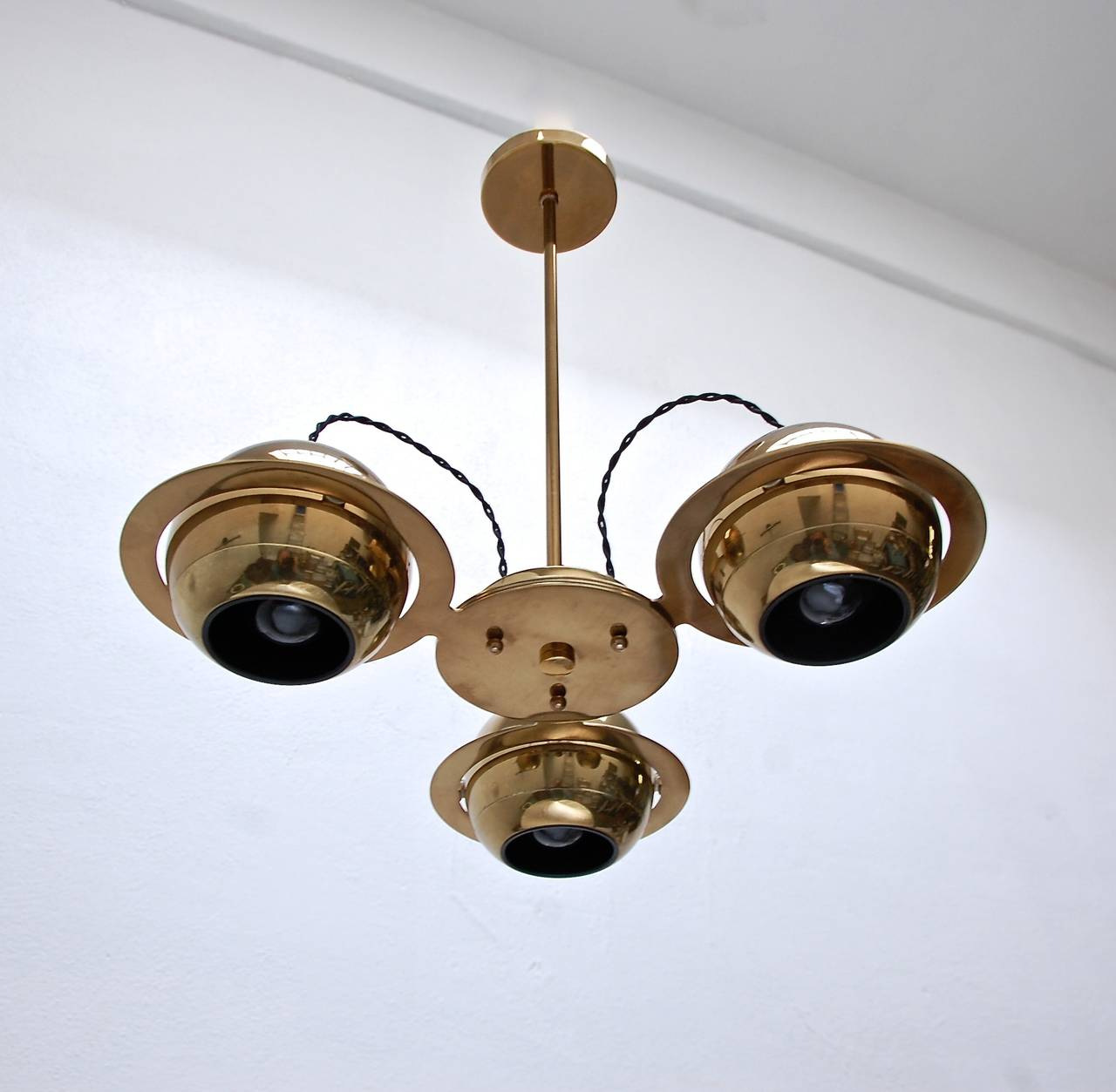 Reggiani Attributed Small Chandelier For Sale 1
