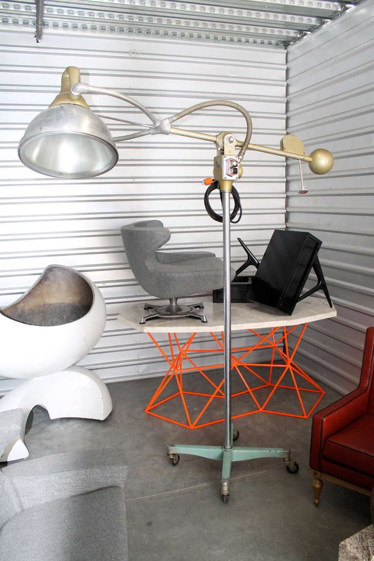 Oversized Surgical Articulating Counterbalance Lamp At 1stdibs