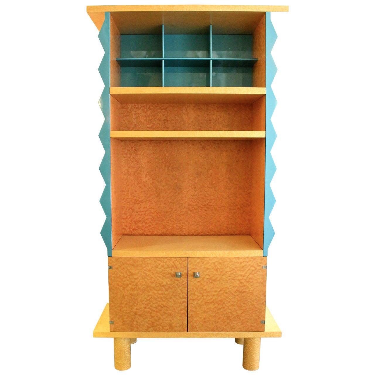 rare bookcase by ettore sottsass and marco zanini  austria