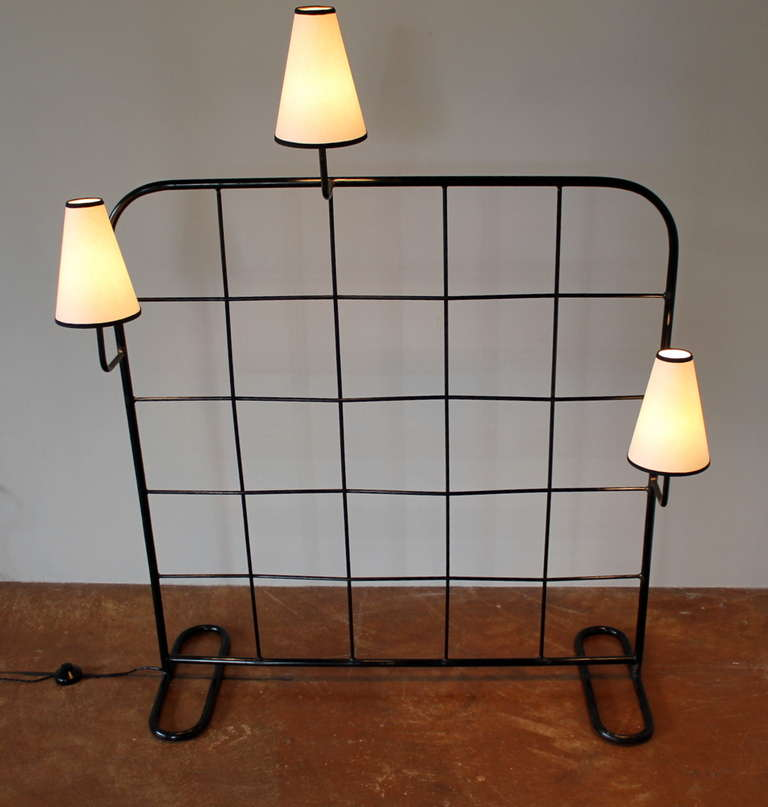 Genuine Jean Roy Re Room Divider And Luminaire France