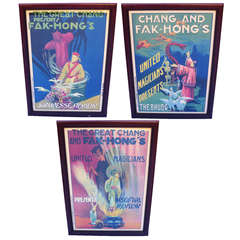 The Great Chang Original 1930s Magic Posters