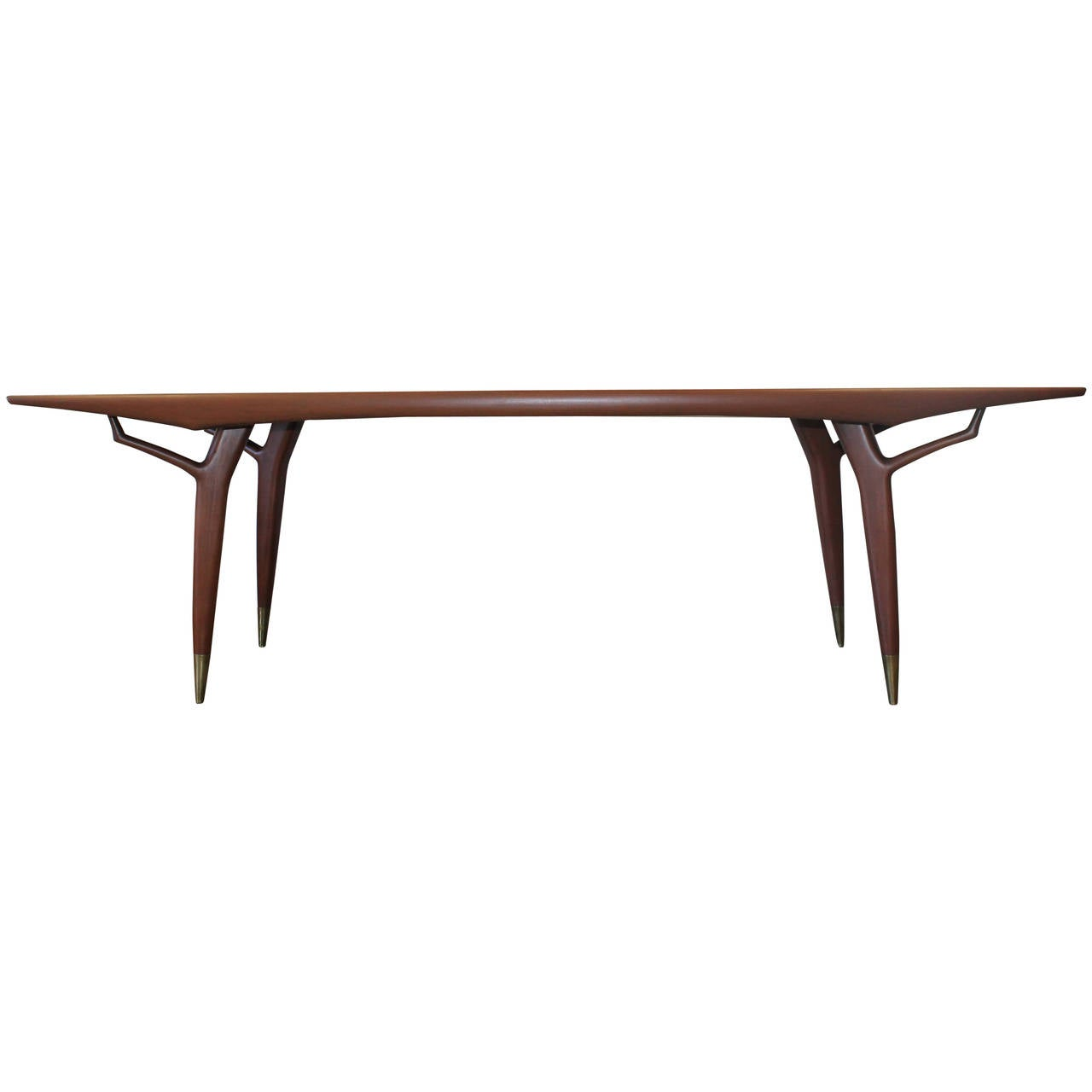 eugenio escudero sculptural 8ft dining table 1950s at 1stdibs
