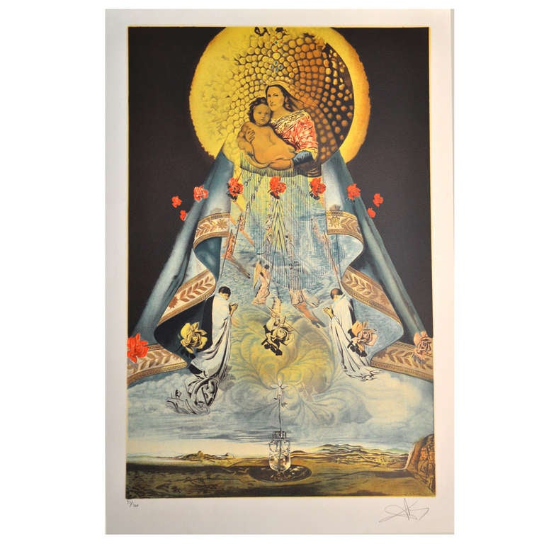 Original Salvador Dali Lithograph (Signed) at 1stdibs