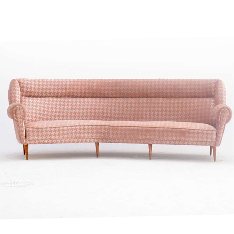 Four seat sofa Italy 1950 s at 1stdibs