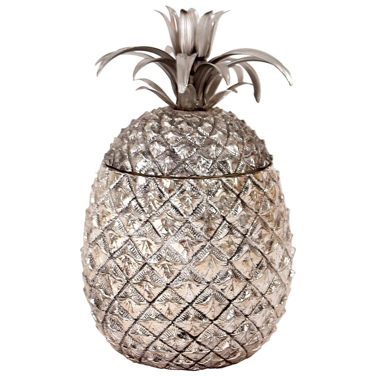 pineapple ice bucket designed by mauro manetti at 1stdibs
