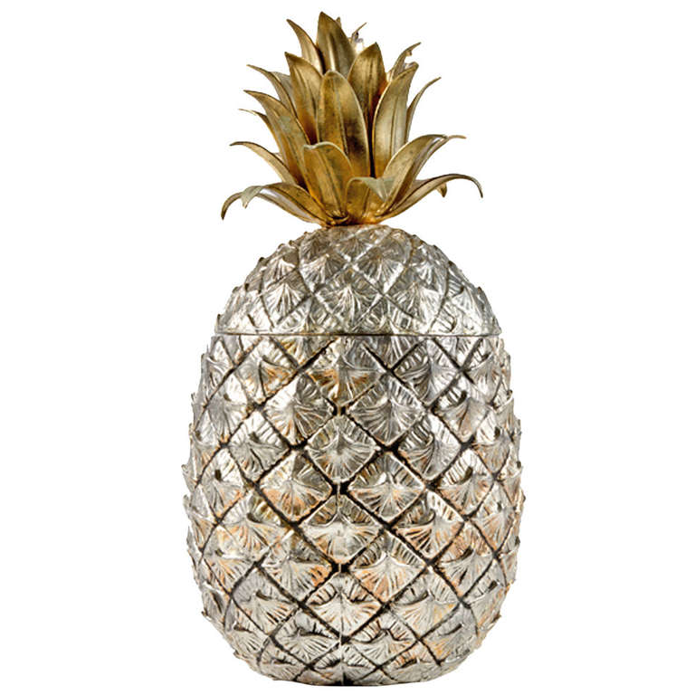 Pineapple Ice Bucket by Mauro Manetti, Italy, 1950s 1