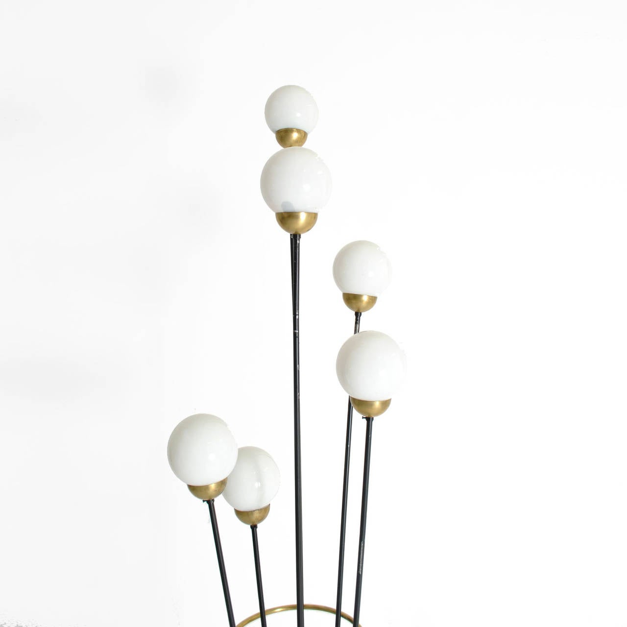 Floor lamp designed by stilnovo italy 1950 at 1stdibs for 1950 floor lamp