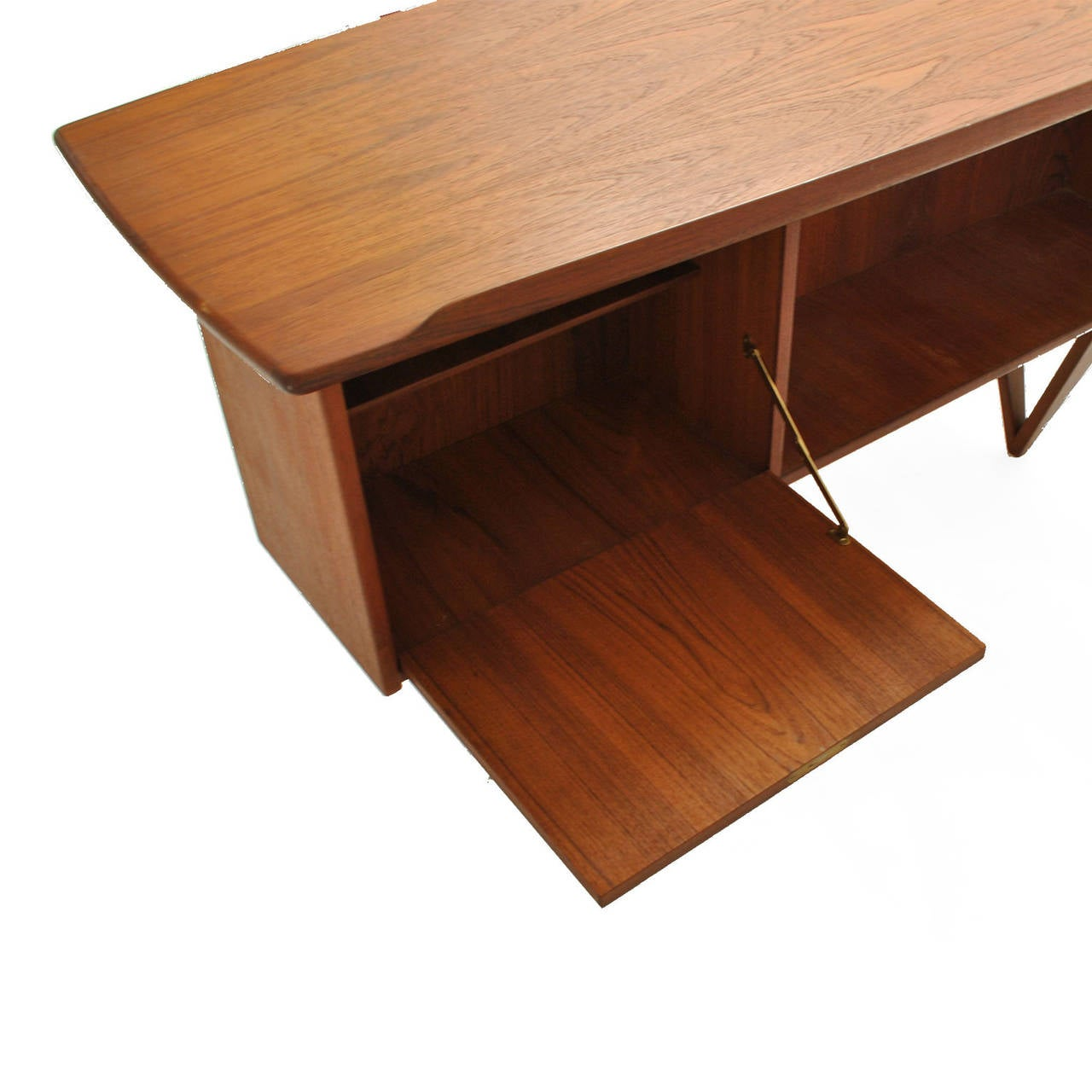 Mid-20th Century Boomerang Table Desk by Peter Løvig Nielsen For Sale