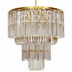 Venini Glass Suspension Lamp