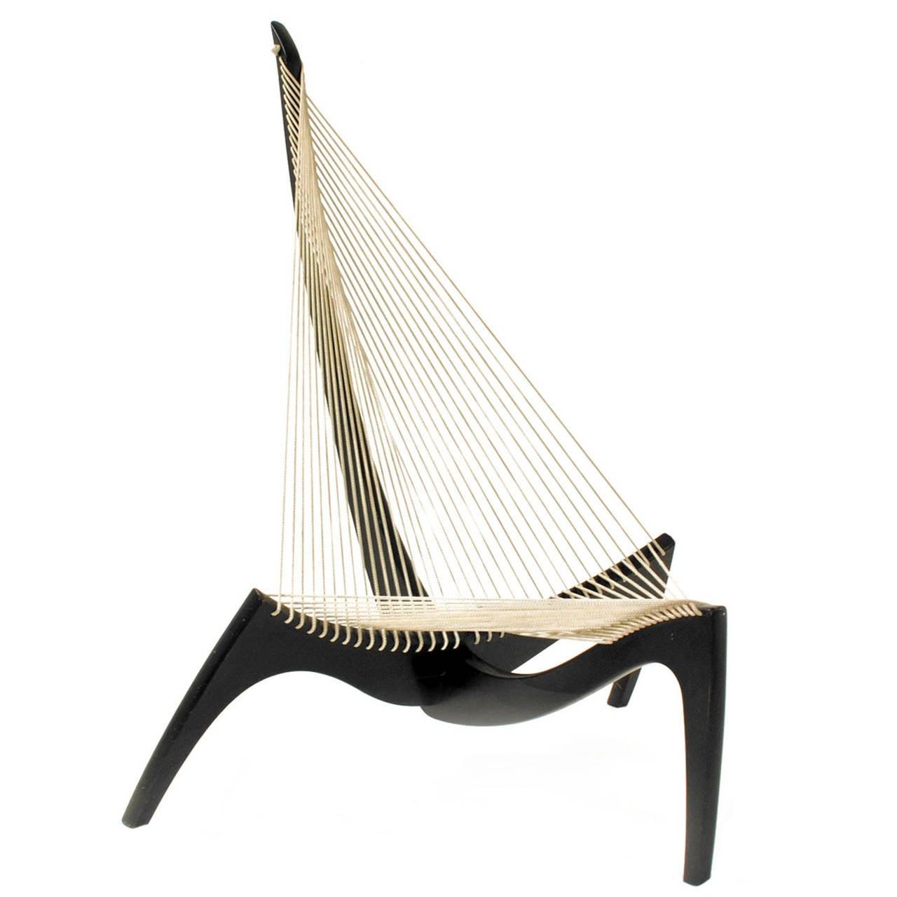 """Chair """"Harp"""" Designed by Jørgen Høvelskov For Sale"""