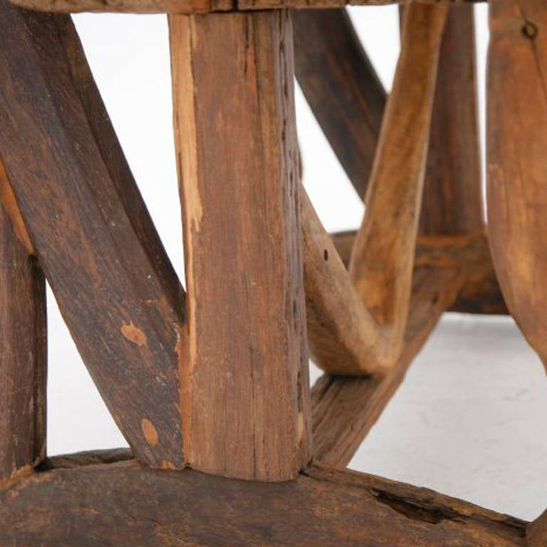 Mid-20th Century Sculpture of a Chair, France, 1940s For Sale