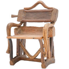 Sculpture of a Chair, France, 1940s