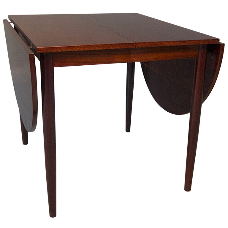 Space Saving Dining Table : ... Mobel Danish Modern Rosewood Space Saving 8ft Dining Table at 1stdibs