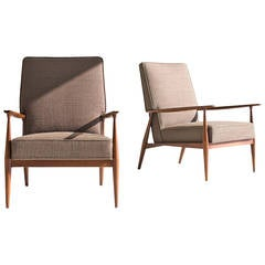 Paul McCobb Arm Lounge Chairs for Directional