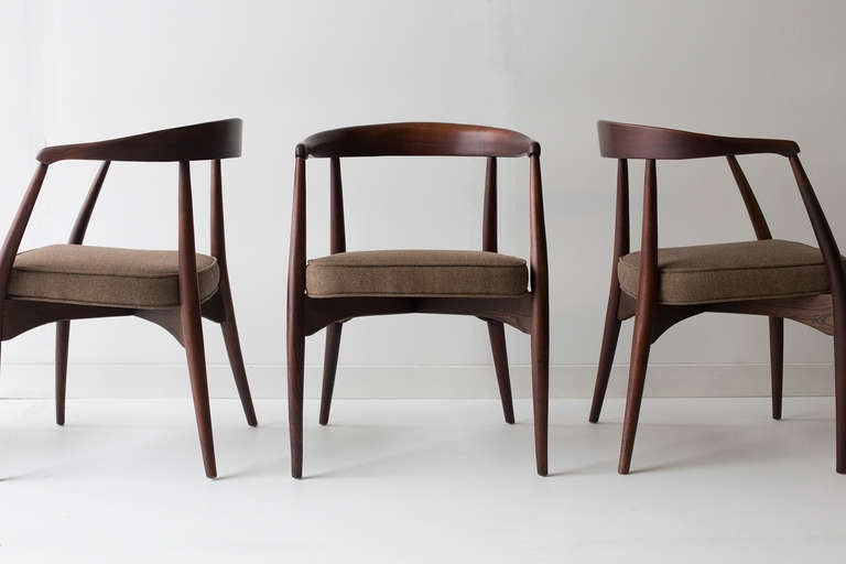 Lawrence Peabody Dining Chairs For Richardson Brothers At 1stdibs