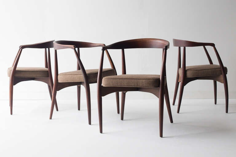 Lawrence Peabody Dining Chairs For Richardson Brothers At