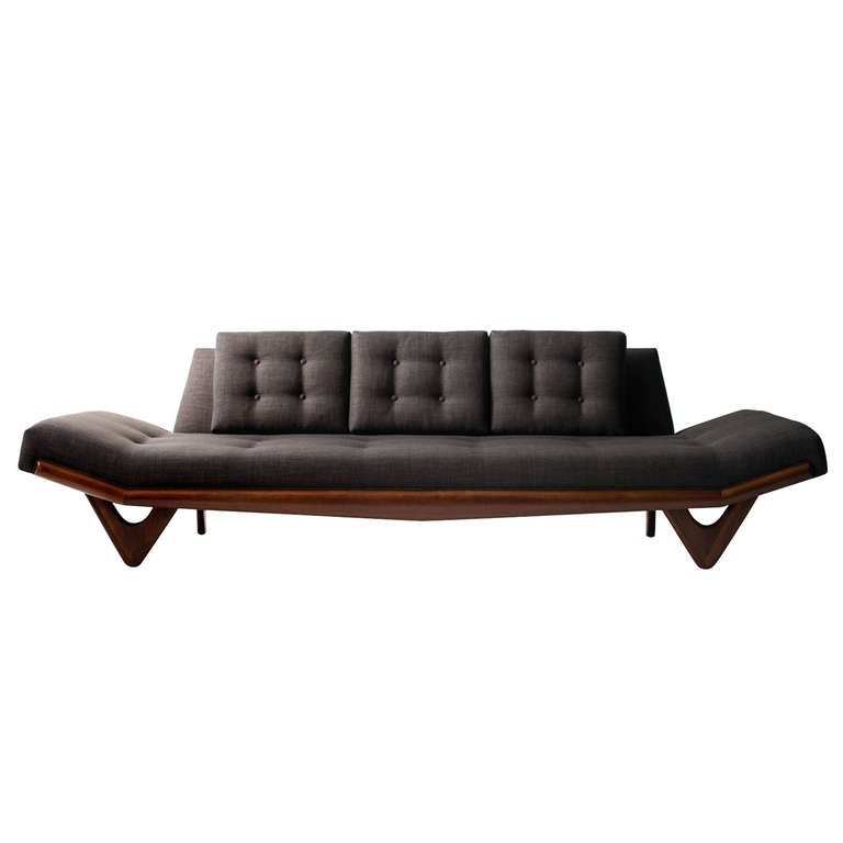 Adrian Pearsall Sofa for Craft Associates For Sale at 1stdibs