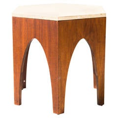 Harvey Probber Attributed Octagon Side Table