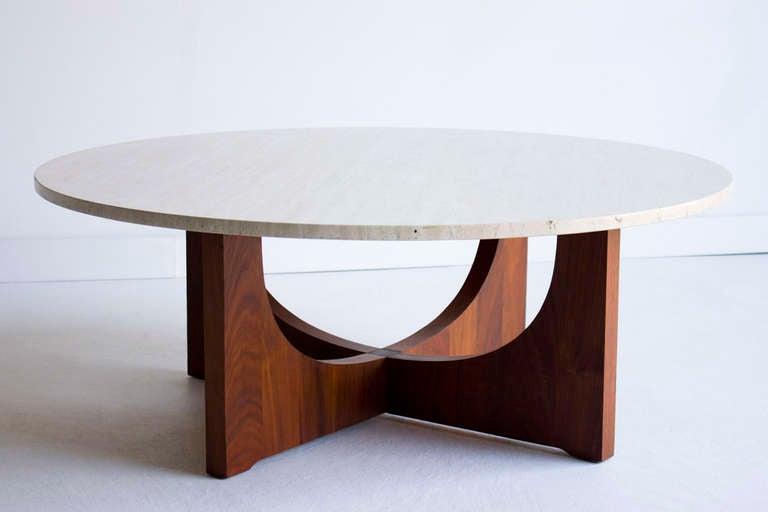 Mid Century Italian Marble Coffee Table 3