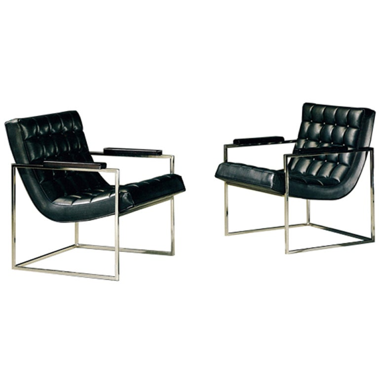 Milo Baughman Lounge Chair for Thayer Coggin For Sale at 1stdibs