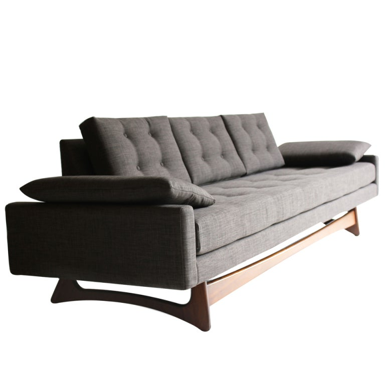 Adrian Pearsall Sofa Couch 2408S for Craft Associates at 1stdibs