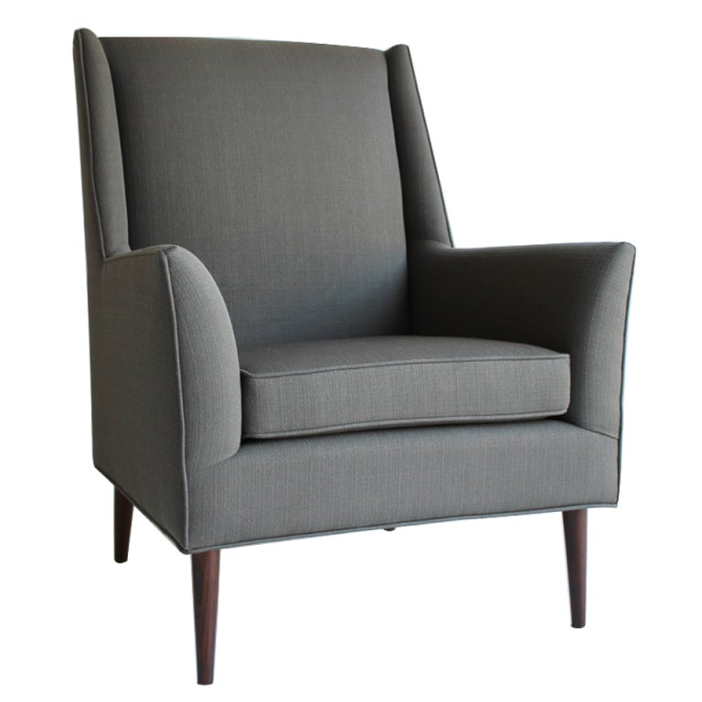 Paul McCobb Style Arm Lounge Chair at 1stdibs