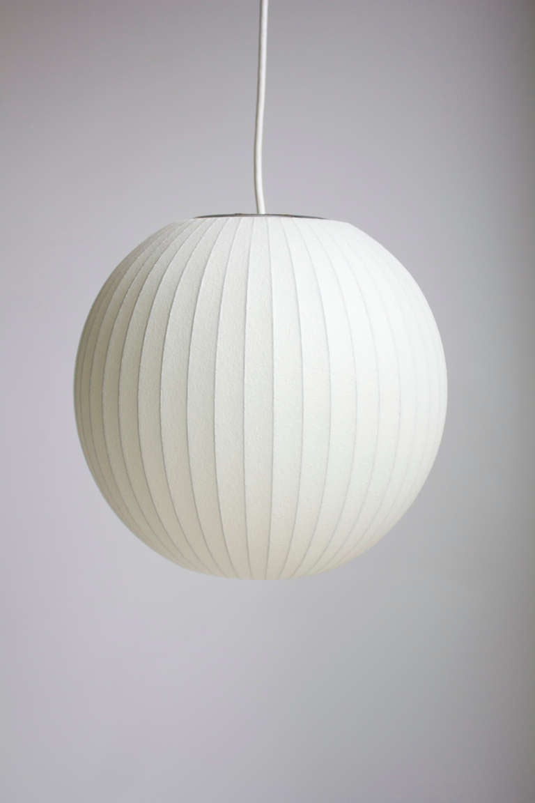 George Nelson Bubble Lamp For Howard Miller At 1stdibs
