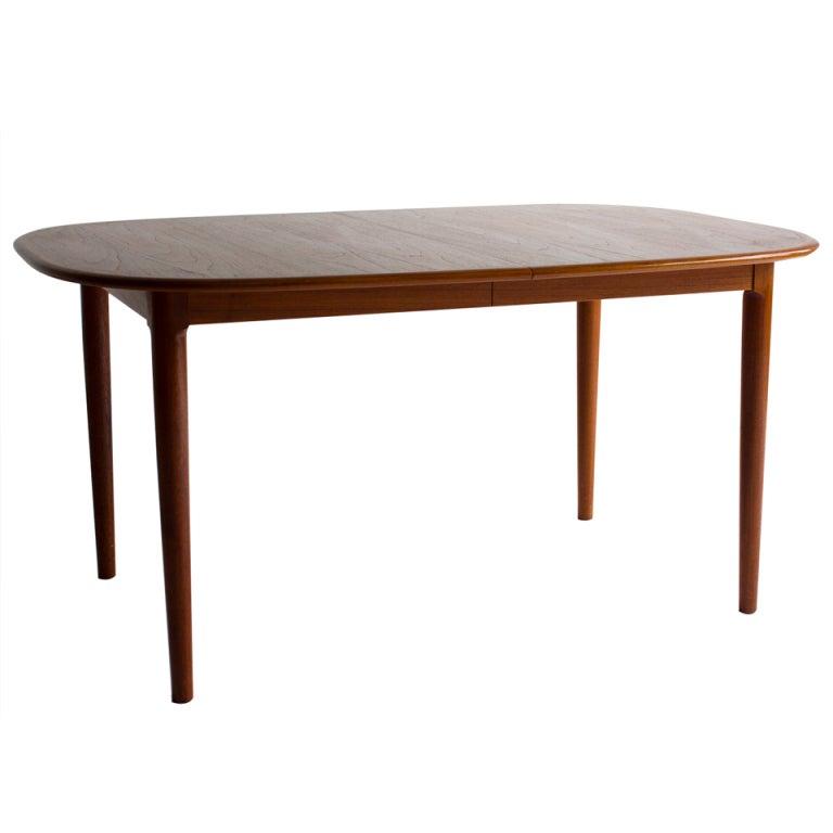 Danish Modern Teak Dining Table At 1stdibs