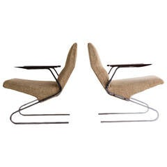 Georges Vanrijk Lounge Chairs for Beaufort