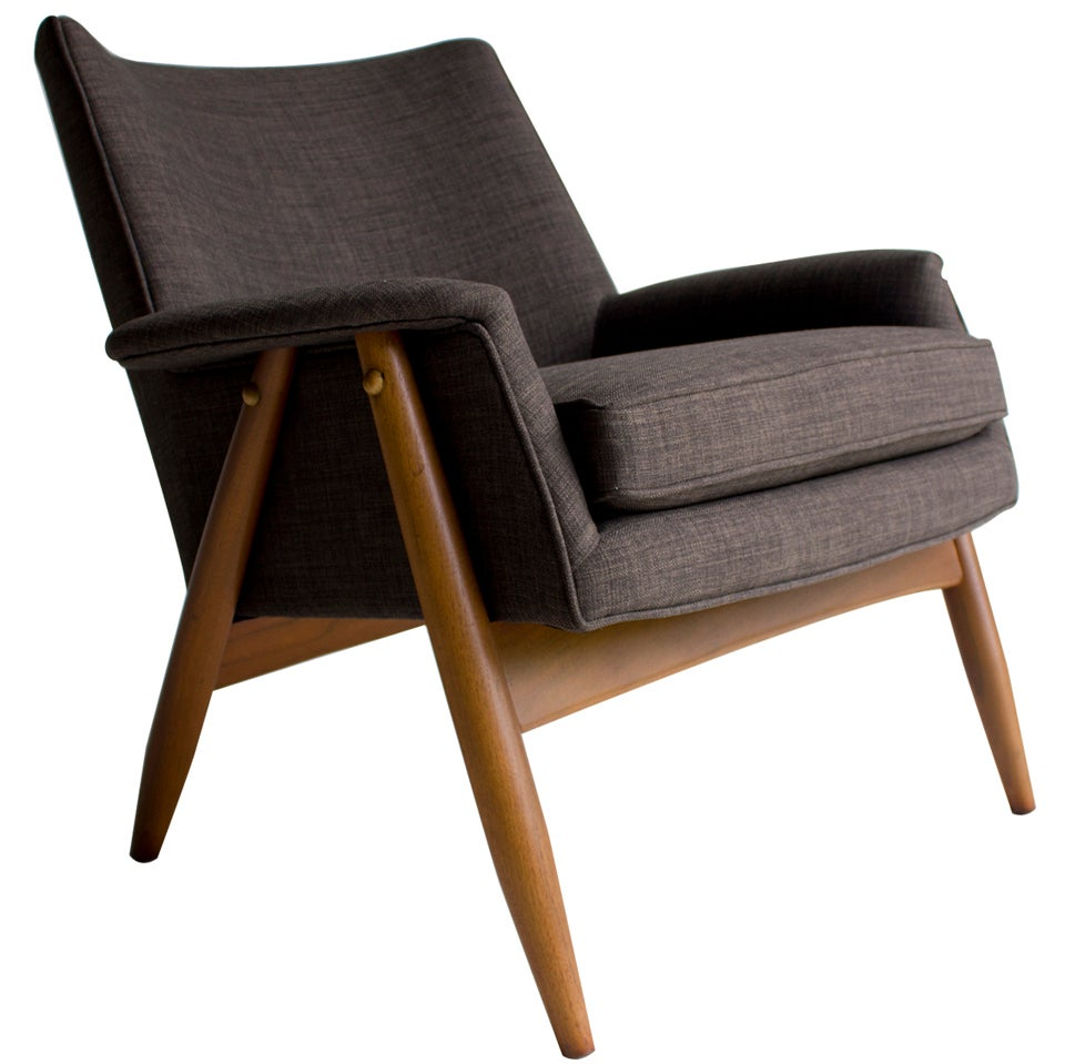 Milo Baughman Lounge Chair for James Inc at 1stdibs