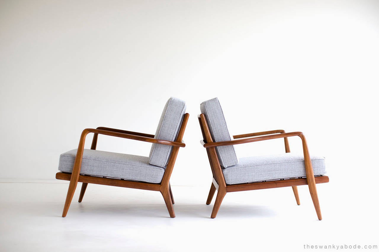 Mel Smilow Low Lounge Chairs for Smilow Thielle at 1stdibs