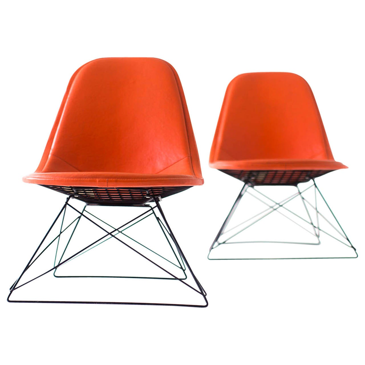 Ray and Charles Eames LKR-1 Lounge Chairs for Herman Miller
