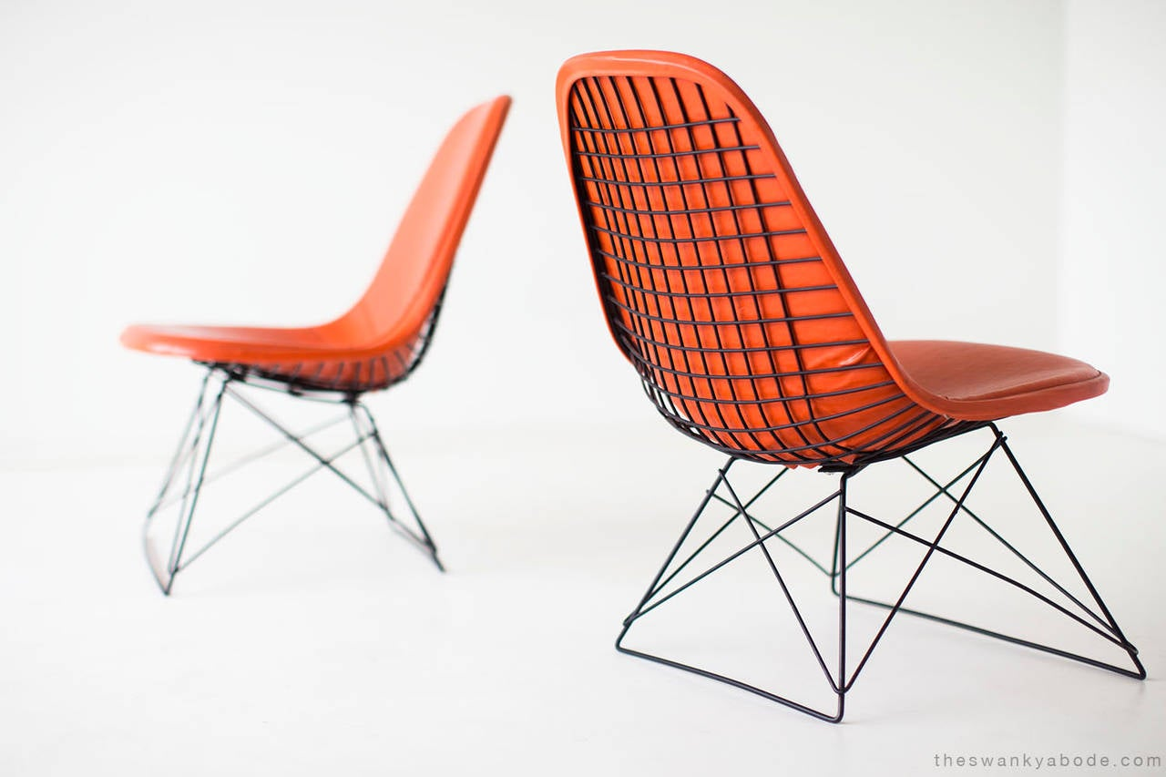 Ray and Charles Eames LKR-1 Lounge Chairs for Herman Miller In Good Condition For Sale In Oak Harbor, OH