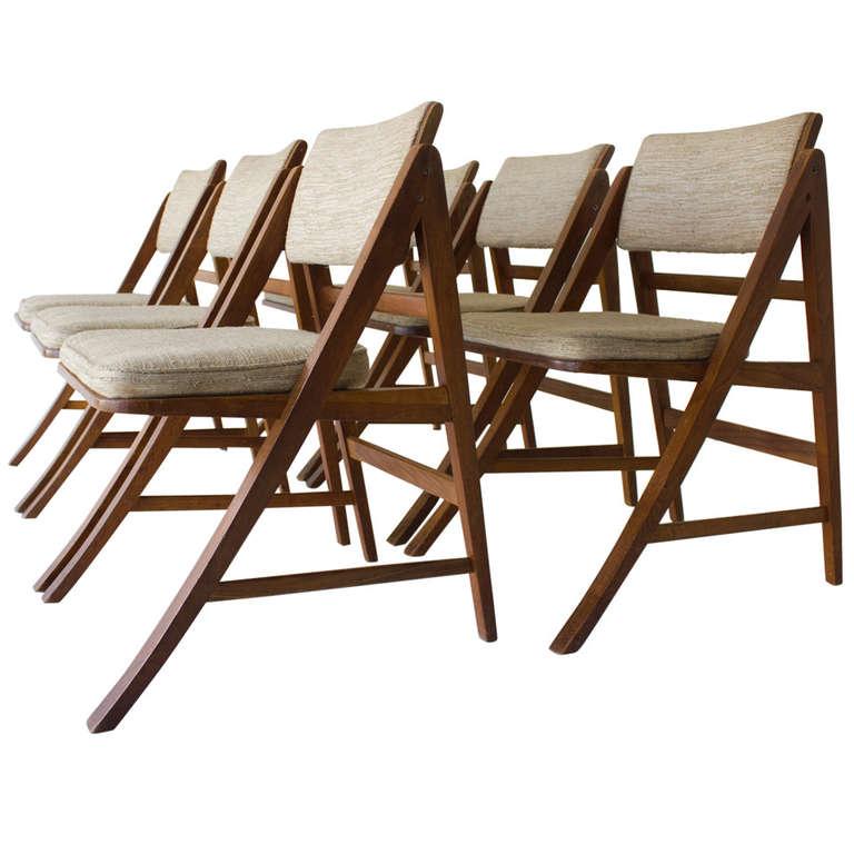 Edward Wormley Dining Chairs for Dunbar