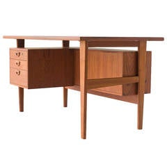 Kai Kristiansen Teak Desk for FM Mobler