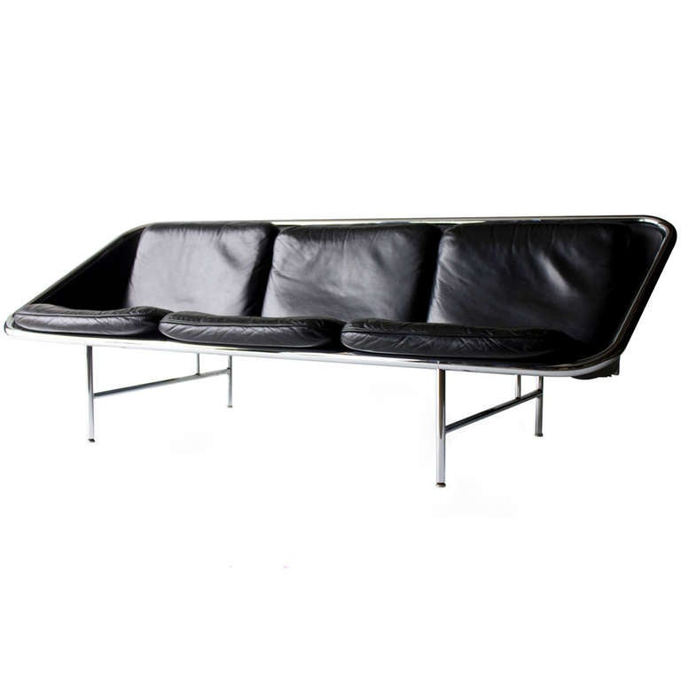 george nelson sling sofa for herman miller at 1stdibs. Black Bedroom Furniture Sets. Home Design Ideas