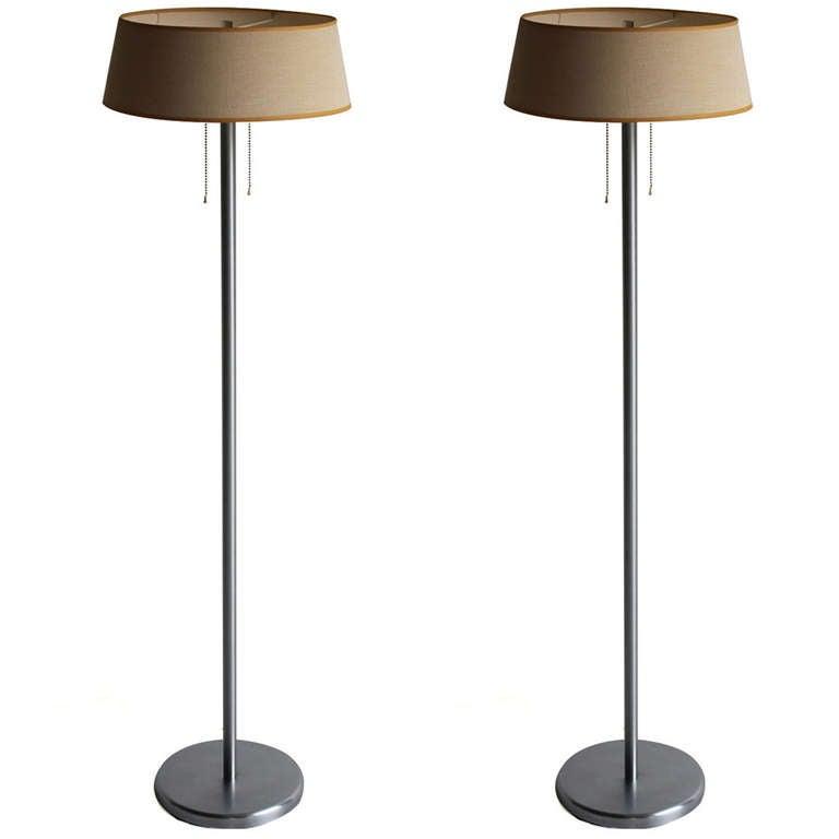 Walter Von Nessen Floor Lights