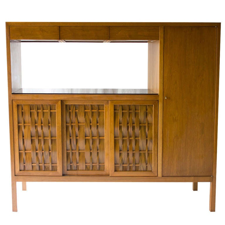 Edward Wormley Room Divider Cabinet for Dunbar
