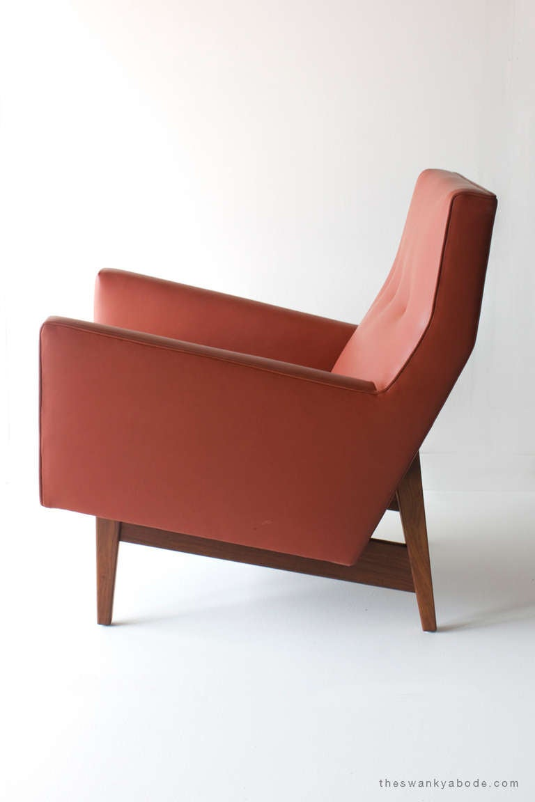 Jens Risom Lounge Chair for Risom Design at 1stdibs